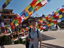 Ondanks de knokkelkoorts mist Nyncke van de KSG in Apeldoorn Nepal nu al