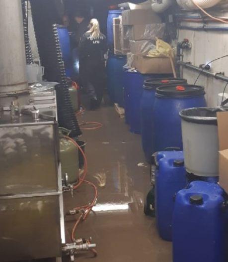 Verdachten wilden uit Vleutens drugslab vluchten via ondergronds gangenstelsel, maar werden betrapt