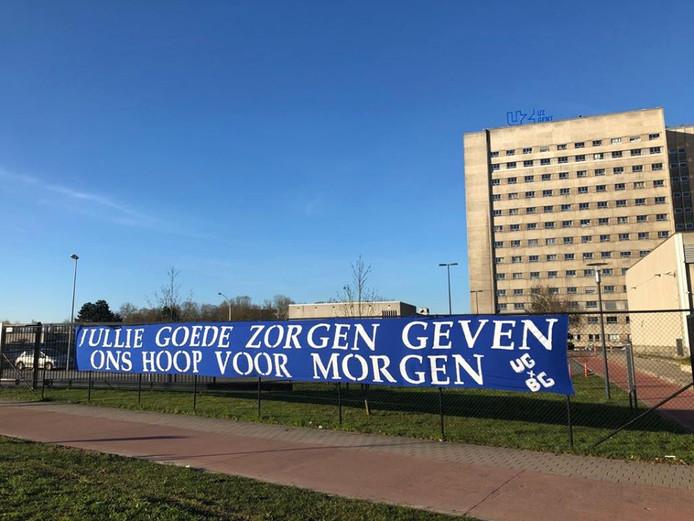 Ook in het UZ Gent wordt hard gewerkt door het ziekenhuispersoneel.