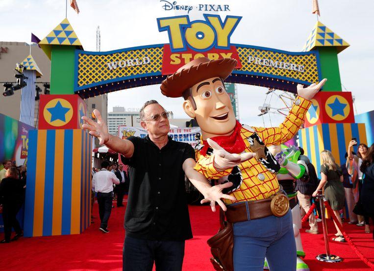 Tom Hanks was twintig jaar lang dé stem van Woody.
