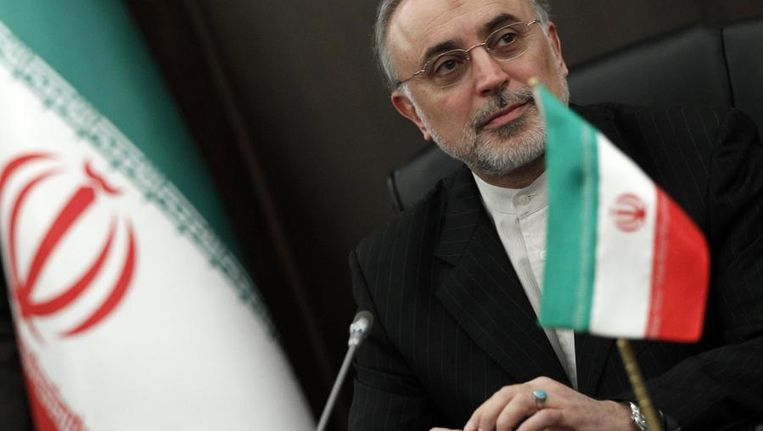 De Iraanse minister van buitenlandse zaken Ali Akbar Salehi. Beeld reuters