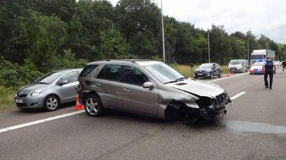 E314 even versperd door ongeval