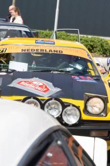 Groep losgebroken paarden bij Vechtdal Rally kan de pret bij de 'coureurs' niet drukken