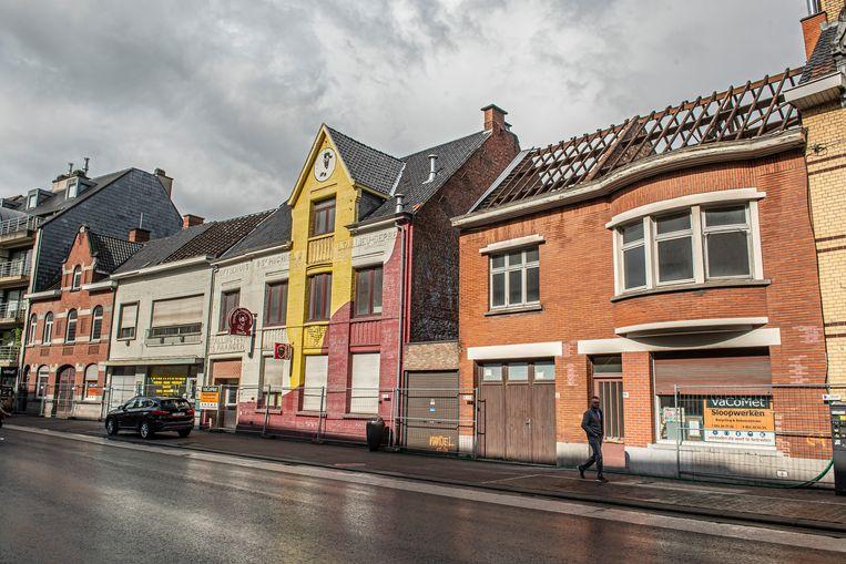 Al deze gebouwen, met centraal het vroegere jeugdcentrum DieZie, gaan tegen de vlakte voor de realisatie van 't Goed.