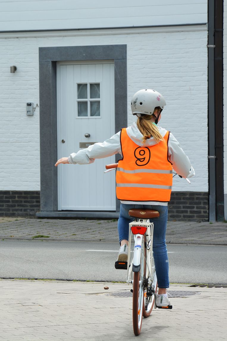 Illustratiebeeld fietsexamen