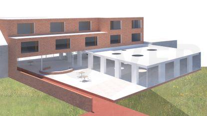 Nieuw buurthuis Schendelbeke in de steigers