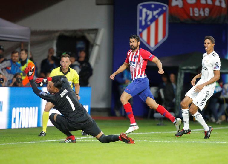1': Diego Costa werkt al na 49 seconden binnen.