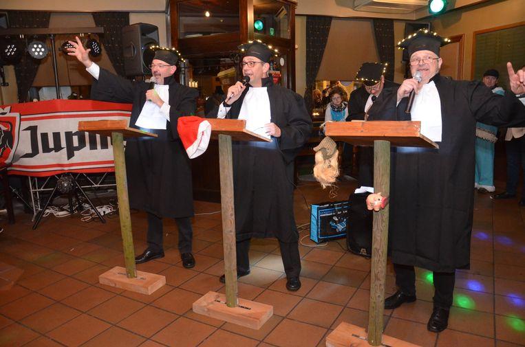 'De Ienige Echte...' tijdens Driekoningen in Denderhoutem.