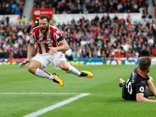Stoke City verrast titelkandidaat Arsenal