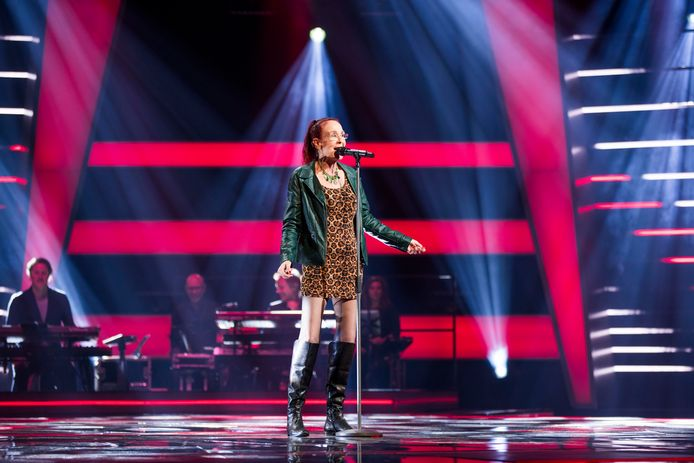 De Dordtse zangeres Noble doet mee aan The Voice Senior.