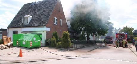 Gewonden bij woningbrand in Putten