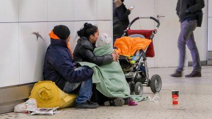 In heel Europa stijgt het aantal daklozen, ook ons land doet het bar slecht