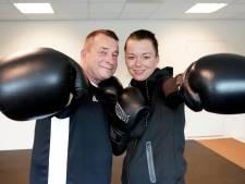 Hoe vechtsporter Semaja haar vader er na een hartinfarct bovenop bokste
