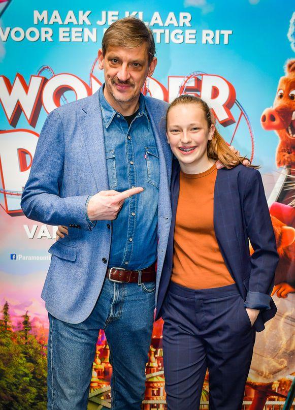 Peter en Charlie spreken allebei een stem in voor de animatiefilm 'Wonder Park'.