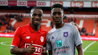 """Mpoku (Standard) op contractbespreking van zijn broer Sambi Lokonga (Anderlecht): """"Geen probleem"""" voor de bond"""