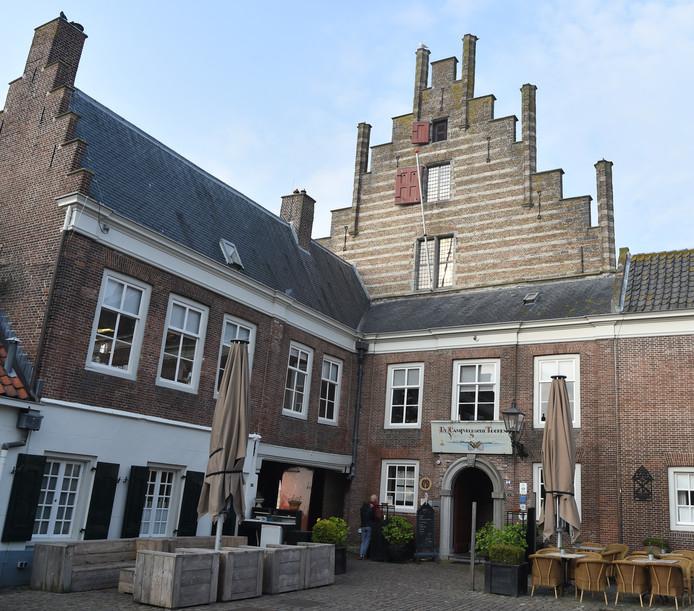 Restaurant De Campveerse Toren mag als enige in Zeeland nog een Bib Gourmand voeren.
