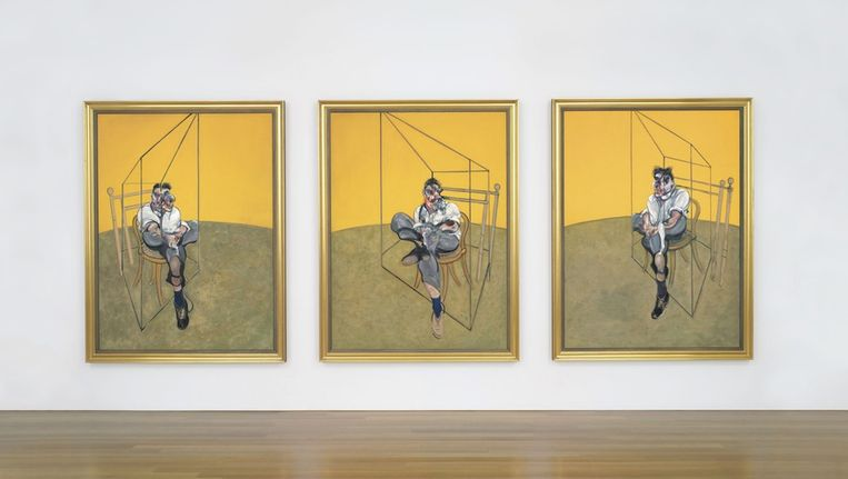 Werk van kunstenaar Francis Bacon. Beeld anp