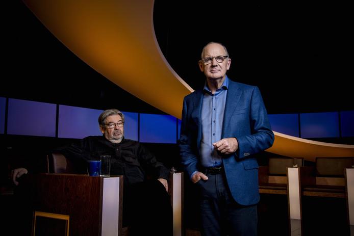 De slimste mens met Maarten van Rossem en Philip Freriks.
