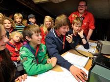 Enschedese scouts zoeken met eigen zendmast naar contact met 1,5 miljoen scouts