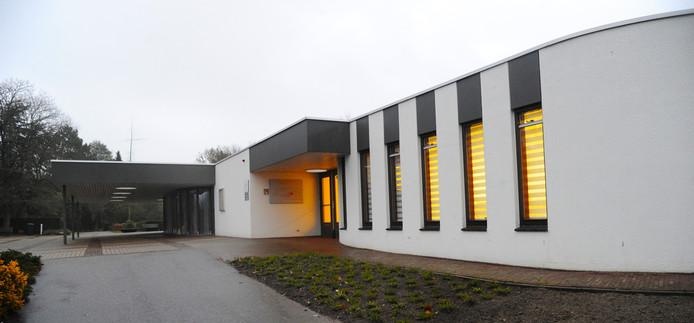 Het crematorium in Middelburg.