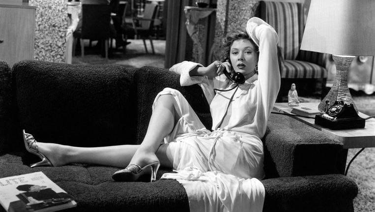 Gloria Grahame in The Big Heat, 1953. Beeld Corbis via Getty Images