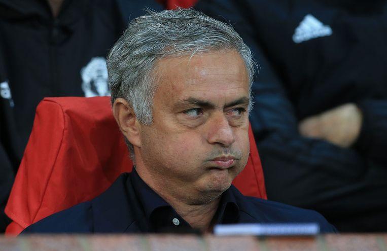 Jose Mourinho Beeld null