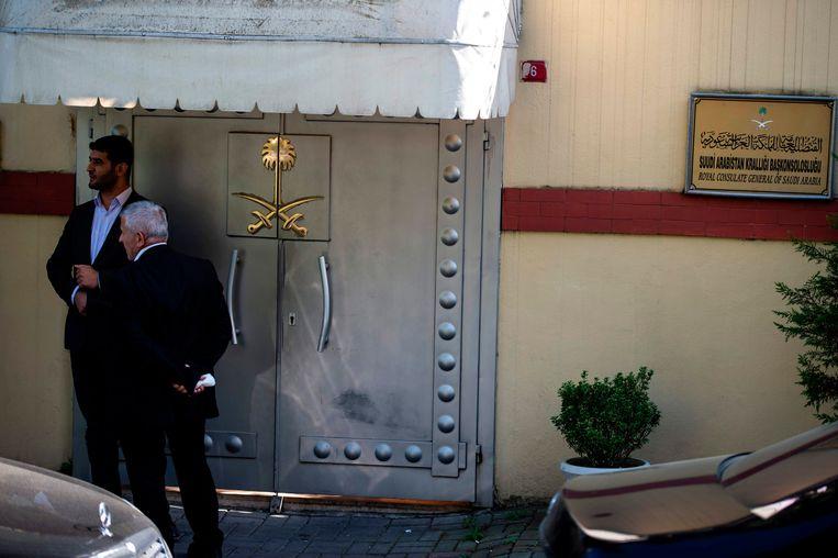 Het Saoedische consulaat in Istanboel. Vond Jamal Khashoggi hier de dood?