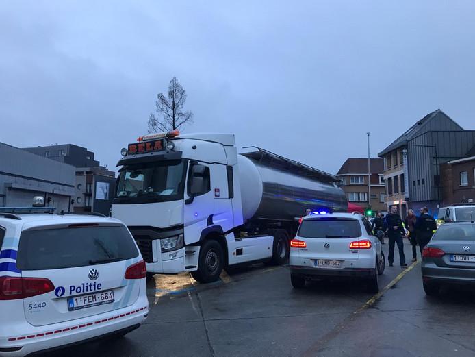 L'accident s'est produit dans le centre d'Alost