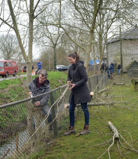 Tiptop verzorgde Stadsboerderij Zierikzee door vrijwilligers NL Doet