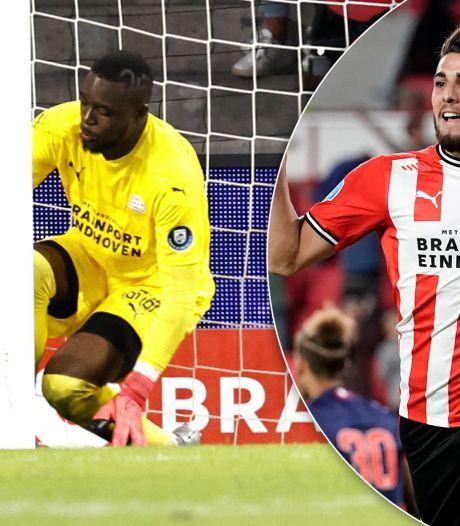 Romero redt PSV tegen FC Emmen na afgrijselijke blunder Mvogo