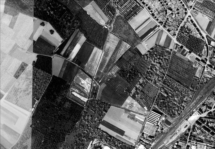 Het schijnvliegveld in Duras.