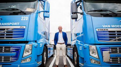 Van Moer Logistics ziet ongevallen en boetes in jaar tijd met 11% dalen en krijgt Truck Safety Award