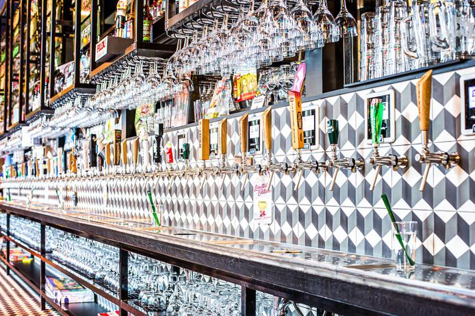 In oktober kun je op de Mariaplaats zelf je bier tappen uit een wand met tachtig bieren.