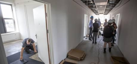 Studentenkamers in oude ziekenhuis Enschede krijgen vorm