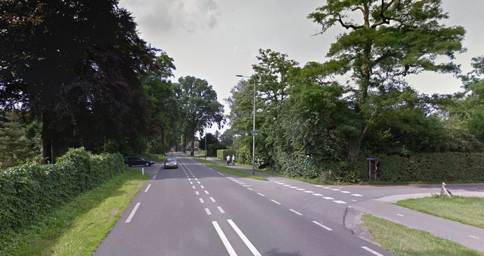 De N348 tussen Gorssel en Eefde.