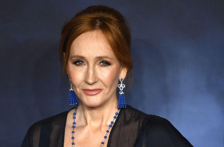 Schrijfster J.K. Rowling. Beeld EPA