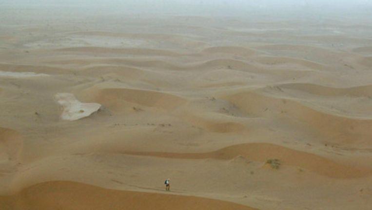 De woestijn in het zuiden van Marokko. Foto EPA Beeld