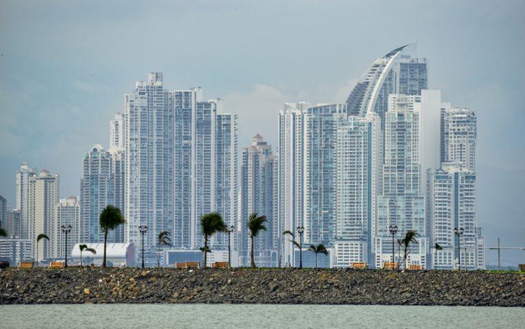 De skyline van Panama City.