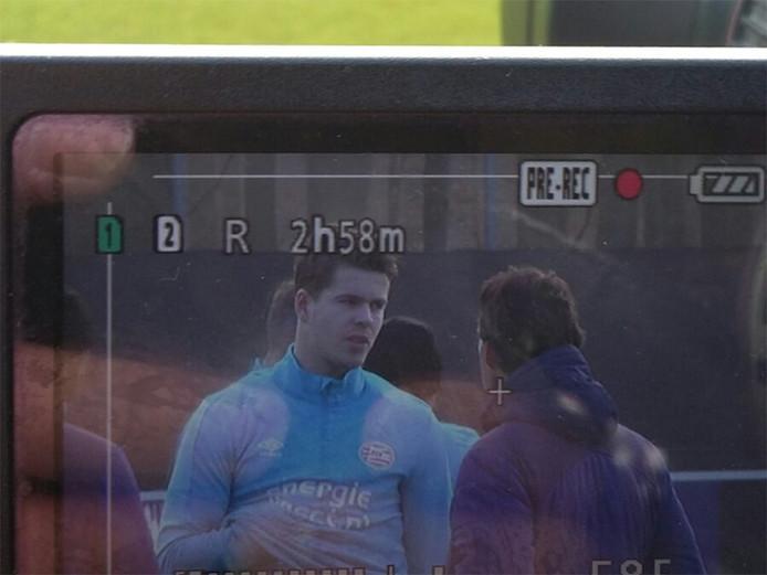 Van Ginkel weer terug op het trainingsveld van PSV