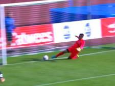 Voetbalclub Estland scoort zonder de bal te raken