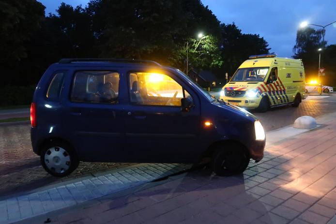 Ongeluk op Korte Brugstraat in Etten-Leur.