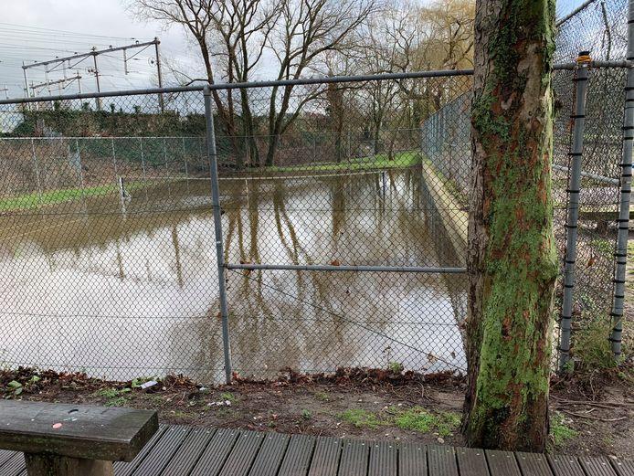 Tennisbaan Westerpark.