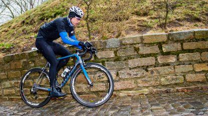 En of Van Aert ook wil knallen in de Ronde: wereldkampioen trok vandaag al op verkenningstocht
