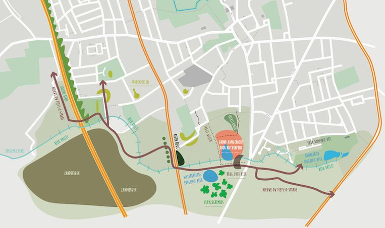 Groen Edegem wil de groene vallei van de Edegemse Beek behouden en er trage wegen aanleggen.