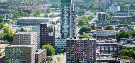 Tilburgers wonen het kleinst, terwijl de huizen bij de buren gemiddeld de helft groter zijn