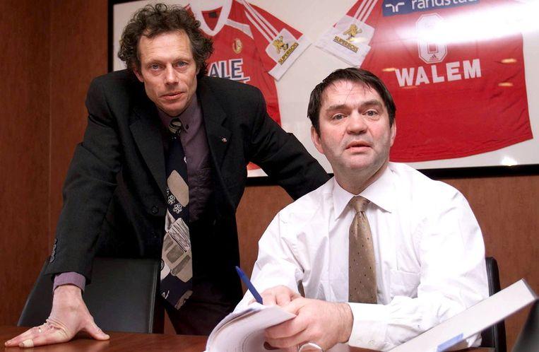 Preud'homme in zijn tijd als technisch directeur bij Standard.