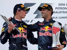 Red Bull-baas Horner: Max legt lat hoger voor Ricciardo