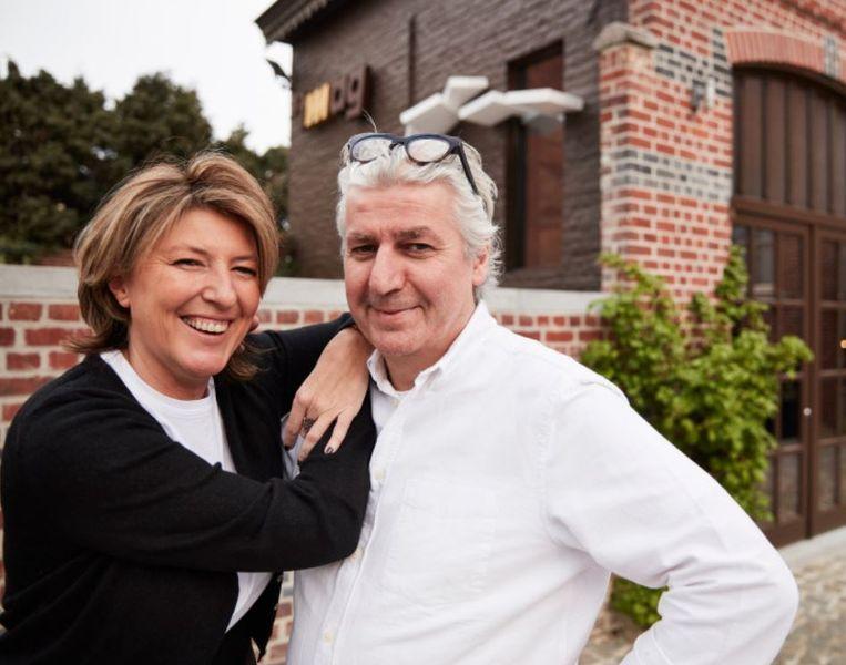 Hilde Degezelle en Tom Loosveldt van 't MAG in Tiegem.