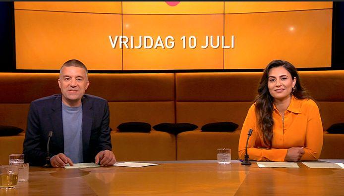 Pieter van der Wielen en Nadia Moussaid.