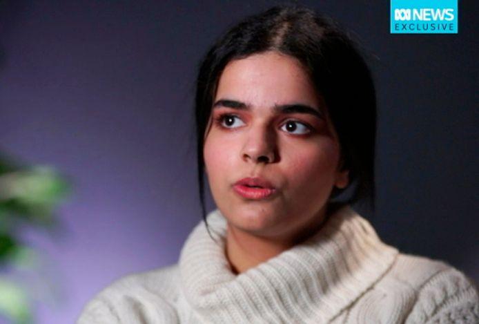 Rahaf hoopt in Canada in vrijheid een nieuw leven op te kunnen bouwen.